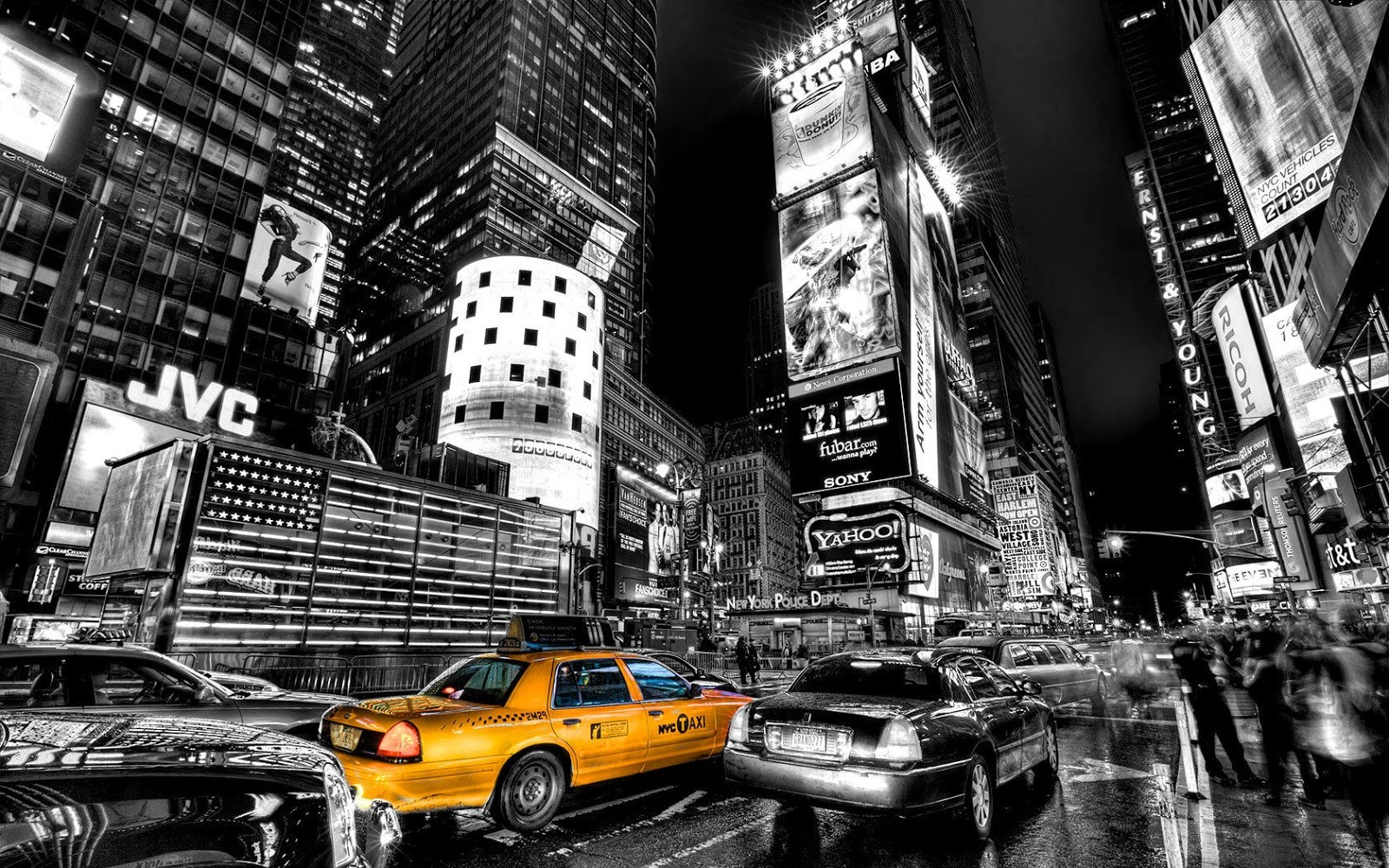 Other New York City Black White Photography Wallpaper